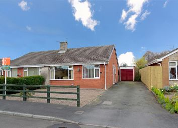 Thumbnail 2 bed bungalow for sale in Brook Drive, Wem, Shrewsbury