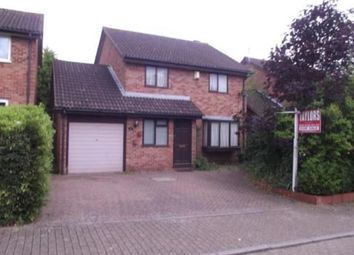 Thumbnail 4 bed detached house for sale in Padstow Avenue, Fishermead, Milton Keynes
