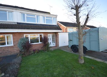 Thumbnail 3 bed semi-detached house for sale in Coltbeck Avenue, Narborough, Leicester