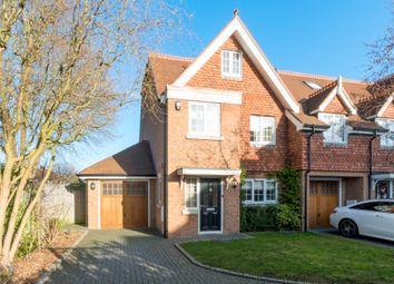 Thumbnail 4 bed semi-detached house to rent in Millers Close, Hersham, Walton-On-Thames