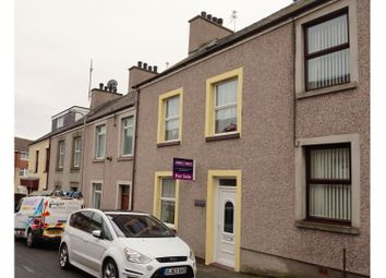 Thumbnail 3 bed terraced house for sale in St. Cybi Street, Holyhead