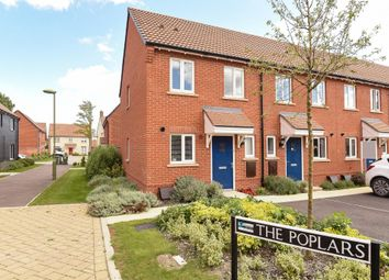 Thumbnail 2 bed end terrace house for sale in The Poplars, Didcot
