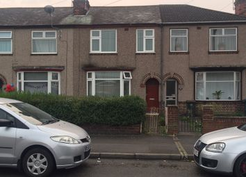 Thumbnail 3 bedroom terraced house to rent in Courtland Avenue, Coventry