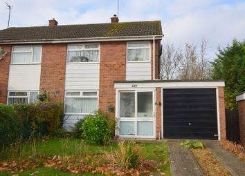 Thumbnail 3 bed semi-detached house for sale in Whaddon Way, Bletchley, Milton Keynes