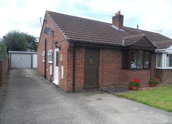 Thumbnail 2 bed semi-detached bungalow to rent in Bravener Court, Newton On Ouse, York