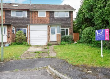 Thumbnail 3 bed end terrace house to rent in Draycote Road, Clanfield, Waterlooville