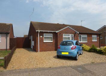 Thumbnail 2 bedroom semi-detached bungalow for sale in Coneygree Road, Stanground, Peterborough