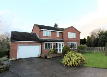 Thumbnail 4 bed detached house for sale in Ellesmere Road, St. Martins, Oswestry