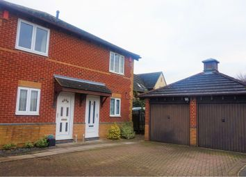 Thumbnail 2 bed semi-detached house for sale in Rochelle Way, Northampton
