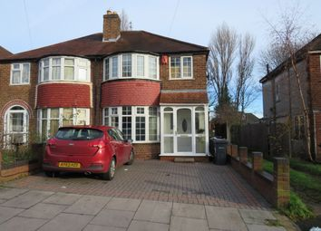 Thumbnail 4 bed semi-detached house for sale in Sandringham Road, Great Barr, Birmingham