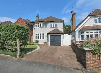 Thumbnail 3 bed detached house for sale in Woodlands Avenue, West Byfleet