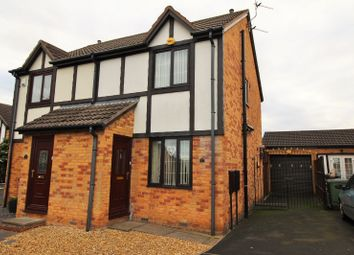 Thumbnail 2 bed semi-detached house for sale in Amber Court, Blyth, Northumberland