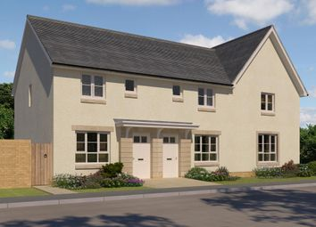 "Thumbnail 2 bedroom end terrace house for sale in ""Fasque 2"" at Oldmeldrum Road, Inverurie"