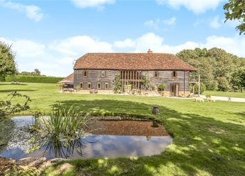Shepherds Lane, Compton, Winchester SO21. 6 bed barn conversion for sale