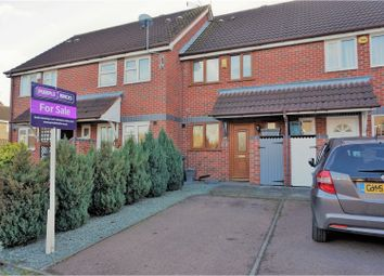 Thumbnail 2 bed town house for sale in Belfry Drive, Leicester