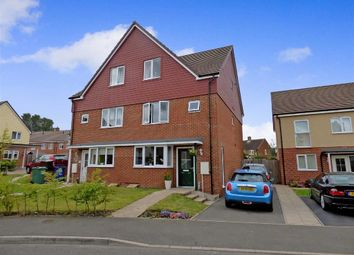 Thumbnail 5 bed semi-detached house for sale in Elizabeth Road, Cannock, Staffordshire