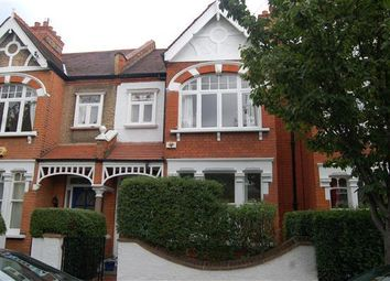 Thumbnail 4 bedroom terraced house to rent in Stroud Road, Wimbledon Park, London