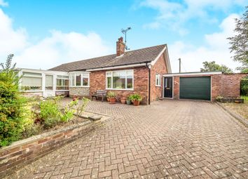 Thumbnail 3 bedroom detached bungalow for sale in Grove Close, Holt