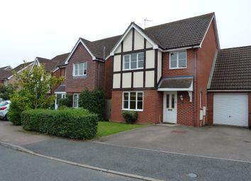 Thumbnail 4 bedroom detached house to rent in Royce Close, Yaxley, Peterborough