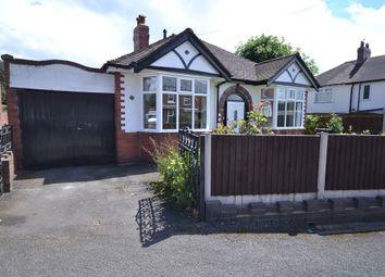 Thumbnail 2 bedroom detached bungalow for sale in Park Avenue West, Newcastle-Under-Lyme