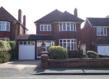 Thumbnail 3 bedroom detached house for sale in Boscobel Road, Walsall, West Midlands