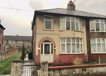 Thumbnail 3 bed semi-detached house for sale in Carleton Street, Morecambe, Lancashire