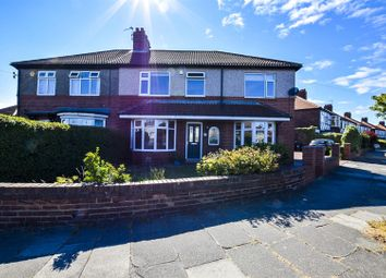 Thumbnail 4 bed semi-detached house for sale in Beverley Road, Whitley Bay