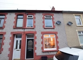 3 bed terraced house for sale in Cwrt Coch Street, Aberbargoed, Bargoed CF81