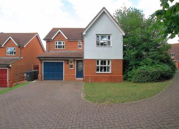 Thumbnail 4 bed detached house for sale in Linden Road, Chartham, Canterbury