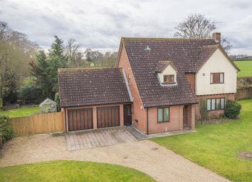 Thumbnail 4 bed detached house for sale in Manor Farm Grove, Hintlesham
