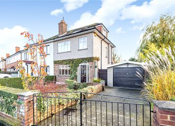 Thumbnail 4 bed semi-detached house for sale in Dale Drive, Hayes, Middlesex