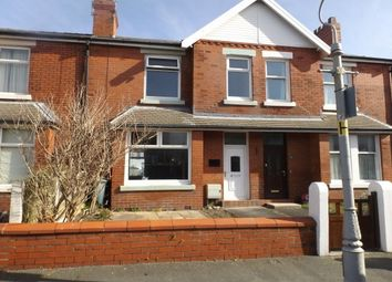 Thumbnail 3 bed terraced house to rent in Curzon Road, St. Annes, Lytham St. Annes