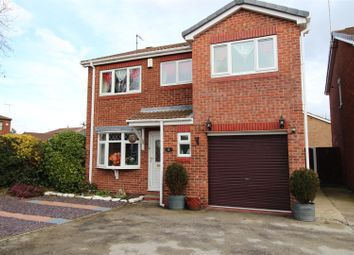 Thumbnail 4 bed detached house for sale in Stable Close, Worksop