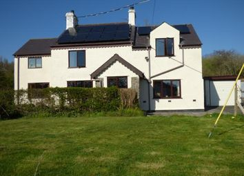Thumbnail 4 bed detached house for sale in Glanrafon, Llangoed, Beaumaris, Anglesey