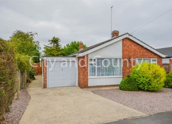 Thumbnail 2 bed detached bungalow for sale in Abbots Drive, Crowland, Peterborough