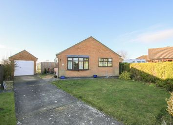 Thumbnail 2 bed bungalow for sale in Wells Drive, Market Rasen, Lincolnshire