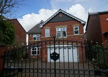 Thumbnail 6 bed detached house for sale in Markland Hill Lane, Bolton