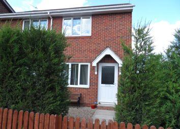 Thumbnail 2 bed semi-detached house for sale in Ashington Drive, Choppington