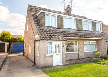 Thumbnail 3 bed semi-detached house for sale in Plantation Avenue, Shadwell, Leeds, West Yorkshire