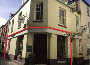 Thumbnail Retail premises for sale in Former Lloyds Bank, 7 Fore Street, Mevagissey, Cornwall