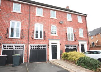 Thumbnail 3 bed town house to rent in Wharton Crescent, Beeston, Nottingham
