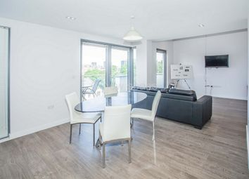 Thumbnail 3 bed flat to rent in Pindoria House, Mintern Street, Hoxton
