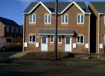 Thumbnail 3 bed semi-detached house to rent in Mill Street, Walsall, West Midlands