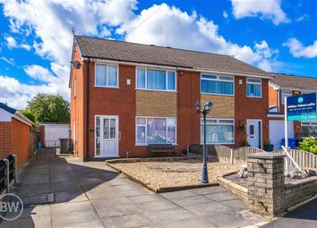Thumbnail 3 bed semi-detached house for sale in Stewart Avenue, Hindley Green, Wigan, Lancashire