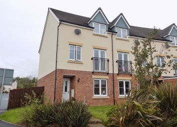 Thumbnail 4 bed end terrace house for sale in Wood Green, Cefn Glas, Bridgend.