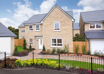 "Thumbnail 4 bed detached house for sale in ""Radleigh"" at Grange Road, Golcar, Huddersfield"