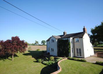 Thumbnail 4 bed detached house to rent in Hooks Lane, Hinstock, Market Drayton