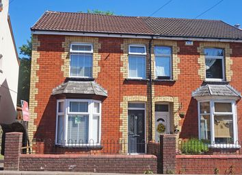 Thumbnail 2 bed semi-detached house for sale in Commercial Street, Ystrad Mynach, Hengoed
