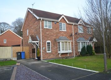 Thumbnail 3 bed semi-detached house to rent in Little Woodbury Drive, Littleover, Derby