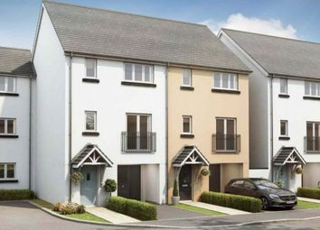 Thumbnail 3 bed terraced house for sale in Exeter Road, Newton Abbot
